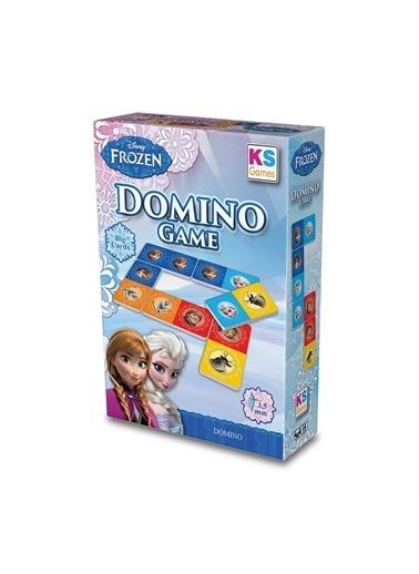 KS Puzzle KS Puzzle FRZ 805 Frozen Temalı Domino Oyunu Renkli